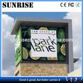 La salida del sol caliente de la venta de publicidad led pantalla de la tv p10 dip, p16, china p20mm de vídeo de la pared del panel oled/pantalla/le