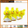 Handmade Custom Stuffed Animal toy cute yellow duck for wholesale