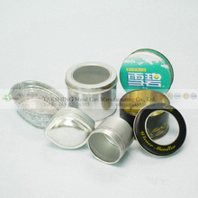 candy candle metal tin round tin factory in china