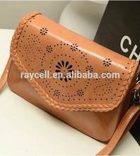 2014 lady laser hollow out hand bag, cute mini shoulder bag, classic fashion tide sweet lady purse