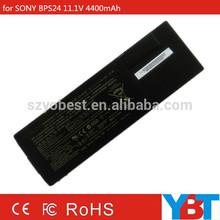 Rechargeable new genuine original battery 4400mAh for SONY VGP-BPS24 VGP-BPL24 VGP-BPSC24 For Sony VAIO SA SB SC SD SE VPCSA
