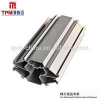 white anodized aluminum aluminum beam