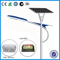 5 years Warranty 8m high 30w to 120w solar led street light with outdoor lamp post