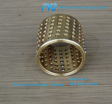 Ball Cage made of Brass with Installation Assistance,Metal Ball Bearing Retainers