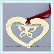 wholesale lovers heart design bookmark favor (xdm-bk221)