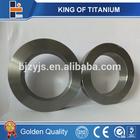 astm b381 Gr2 Gr5 spikes titanium rings