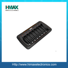 Shenzhen Himax with high quanity 8 slot AA/AAA NiMH/NiCD Smart Charger
