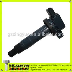 90919-02240 90080-19021 90919-02229 90919-02265 Ignition Coil For Toyota Fielder Prius Corolla Yaris Echo Vitz Raum