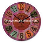antique wood clock