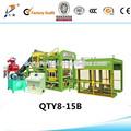 2014 quente baixo preço qty8-15 automático hidráulico cheio de borracha reciclada de tijolos