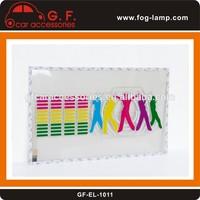 sound/ music activated rhythm car sticker equalizer glow flash EL light panel