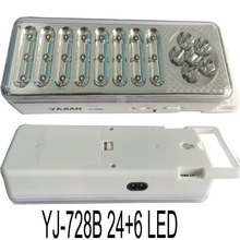 LED rechargeable emergency lamp