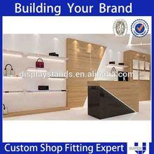 shop shoes display wall