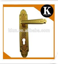 2014 new model hot sale lever type emtek mortise locks fancy hardware handles dubai wholesale market