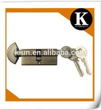 Hot sale high quality euro schlage lock cylinder hand shaped door knob