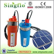 SINGFLO solar powered submersible deep water well pump