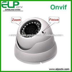 Varifocal zoom and focus cctv outdoor&indoor dome ip camera