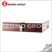 leather tea box leather box suitcase