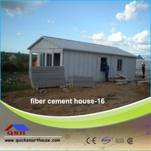 QSH water proof prefab houses/eps cement wall panel