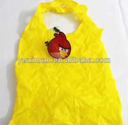 cheap nylon foldable shopping bag for promotion