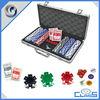 Texas Hold'em Poker Set Poker Chip Case and Poker Chip Holder With Poker Chip Set MLD-AC2464