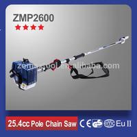 2500 Gasoline Pole Chain Saw ZMP2600