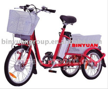 electric tricycle 3-wheel e-bike