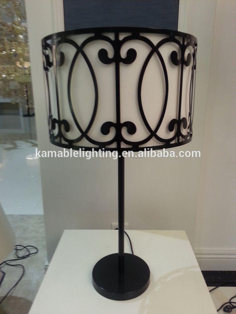 black decorative wrought iron wholesale table lamps buy. Black Bedroom Furniture Sets. Home Design Ideas