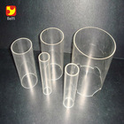 Thin Colored Transparent Round Polycarbonate Pipe , Polycarbonate Tube