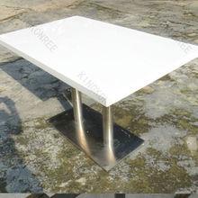 kingkonree luxury modern dining table, rectangle dining table