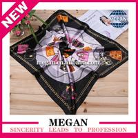 2015 hot sale new fashionable twill silk scarf 90x90