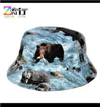 Custom Animal Print Pattern Bucket Hat