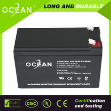 TOP supplier of lead acid battery clean environment 12v 7ah volta batteries for ups
