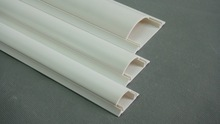 Songsu hot sale PVC trunking PVC Arc flooring cable trunking