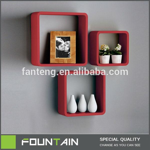 cube tag res tag re murale pour salon d co livre de stockage tag re de l. Black Bedroom Furniture Sets. Home Design Ideas