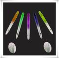 popular e quente vender barato personalizado china 2ba colorida de nylon eixos de dardo