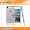 high quality tpu case for iphone 5s with dust plug