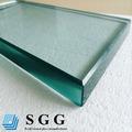 Top Quality 8 mm 10 mm 12 mm vidro temperado borda polida