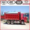 336hp China big truck Sinotruck HOWO 6x4 dump trucks for sale