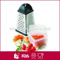 square multi grater w/ a plastic food container