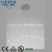 Modern Round LED Pendant Lighting Fixture