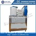 sol tier flake ice maker máquina de gelo refrigerado no peito