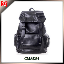 2014 high quality leather backpack, men leather backpacks, backpack leather