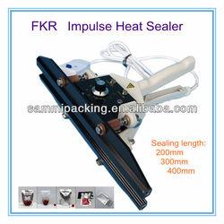 Hand Clamp Sealer,aluminium bag sealing machine FKR-400