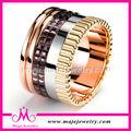2014 el último diseño se combinan multicolor anillo joyería tradicional