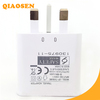 2000mA UK Plug USB Charger AC Power Travel Home Charger For Samsung Note 3 S5 Made in China