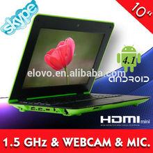 buy cheap lap top in china 10inch cheap mini lap tops VIA WM8850 android 4.1 mini lap top computer