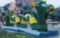 Frete grátis barato inflável dragão de água jogo