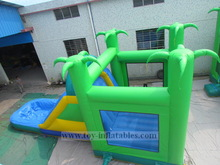 Classic design customized inflatble water slide