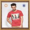 2014 mens fashion printing t-shirt cotton
